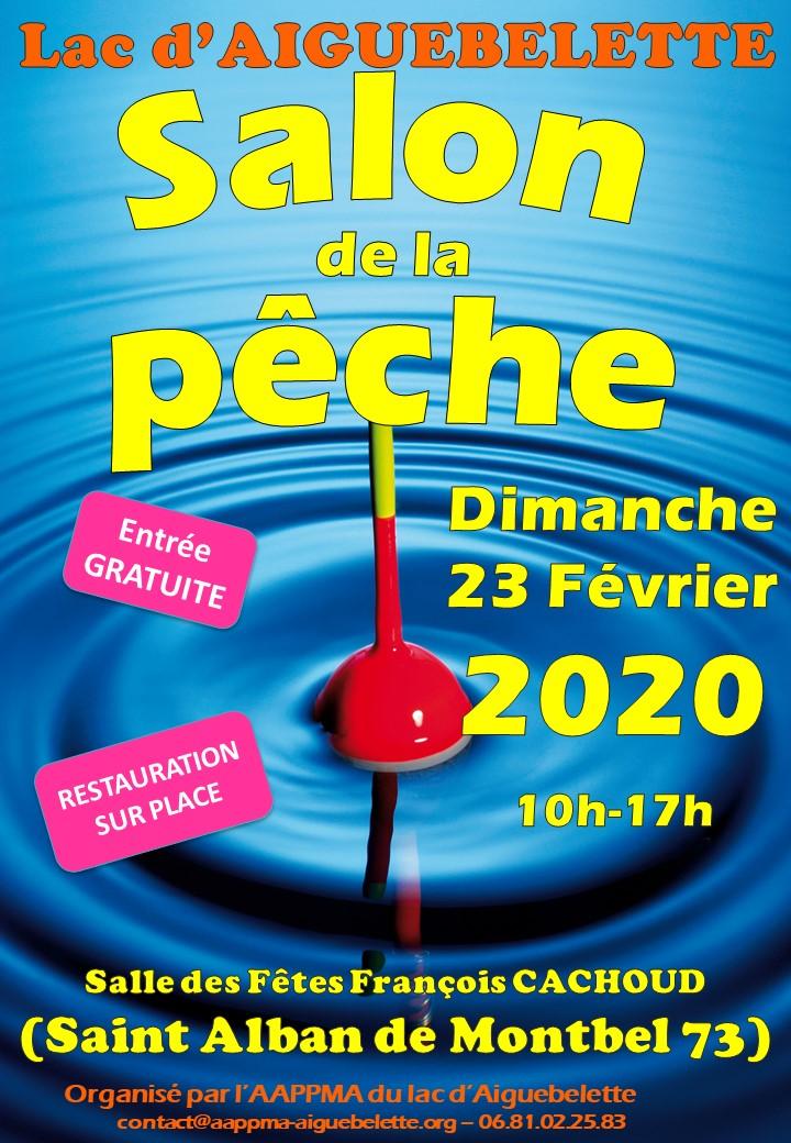 Affiche Salon de la pêche 2020